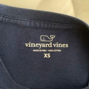 Vineyard Vines Tops - Navy Vineyard Vines Long Sleeve Christmas Whale